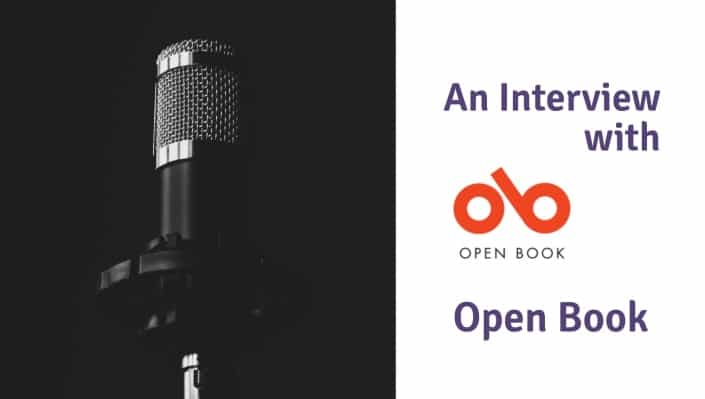 interview with open book