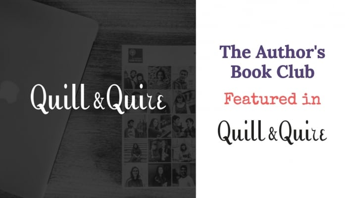 the author's book club featured in the quill & quire