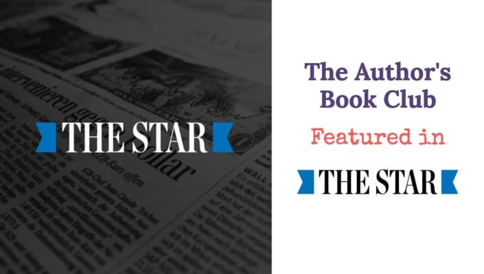 the author's book club featured in the star